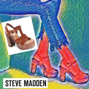 Vintage Boho Inspired Steve Madden Platforms